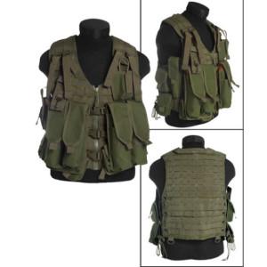 Taktické vesty nejen pro vojáky