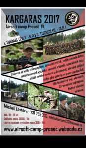 "AIRSOFT CAMP PROSEČ 2017 ""KARGARAS"""