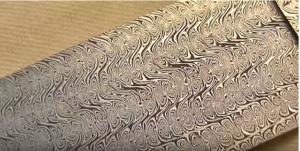 Damascénská ocel tzv. damašek