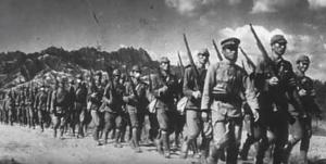 Postup Japonské armády