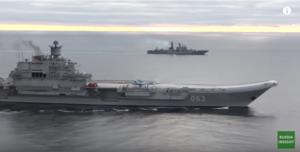 Admirál Kuzněcov byl poprvé nasazen v Sýrii.