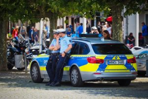 Policejní auta z celého světa.