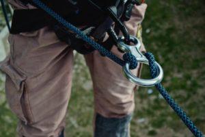 Správná péče o horolezecké lano